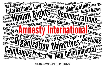 Amnesty International Images, Stock Photos & Vectors