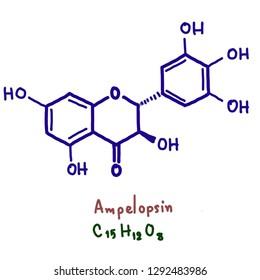 Ampelopsin, also known as dihydromyricetin, is a flavanonol, a type of flavonoid. It is found in the Ampelopsis species japonica, megalophylla, and grossedentata; Cercidiphyllum japonicum.