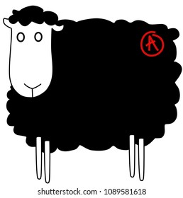 Anarchist black sheep