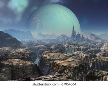 Ancient Alien Ruins on Abandoned Planet