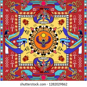 Egyptian Fabric Images, Stock Photos & Vectors | Shutterstock