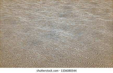 ancient floor - rendered 3d illustration