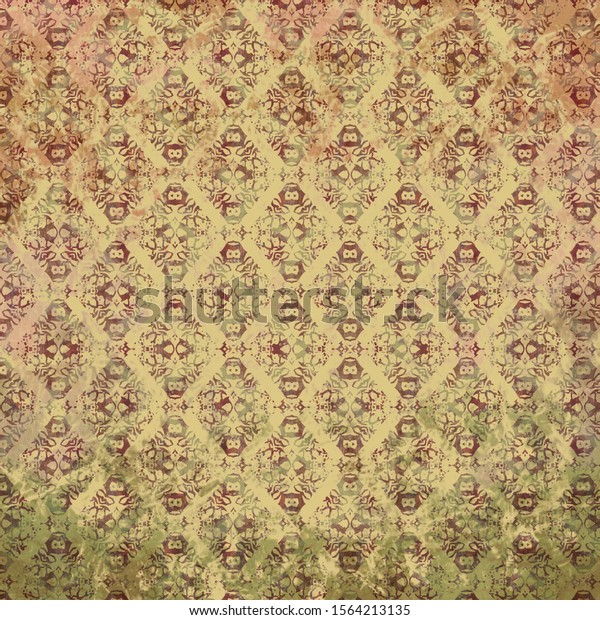 ancient-pink-green-beige-shabby-600w-156