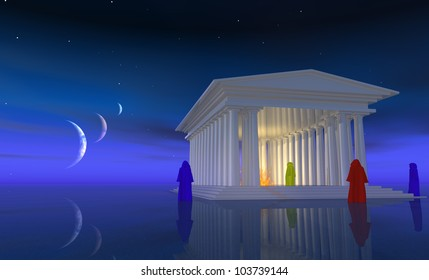Planetary Alignment Images, Stock Photos & Vectors | Shutterstock