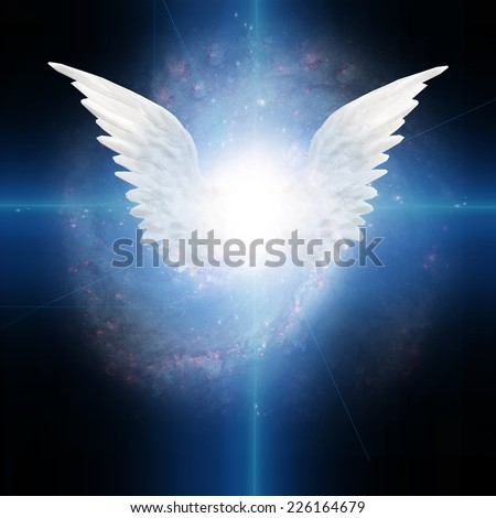 Angel winged Elements of