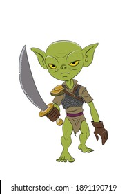 Anger warrior goblin with no mercy