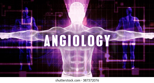 Angiology as a Digital Technology Medical Concept Art
