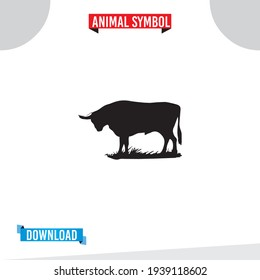Animal icon, Flat Illustration sign isolated on white background. Simple illustration for graphic and web design. animal sign and symbol