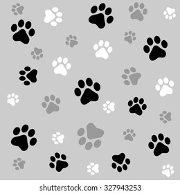 Paw Print Background Images Stock Photos Vectors Shutterstock Seeking for free paw print png png images? https www shutterstock com image illustration animal paw prints seamless background black 327943253