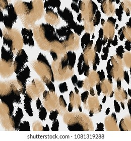 Animal print, leopard texture background