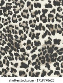Animal print pattern design for fashion