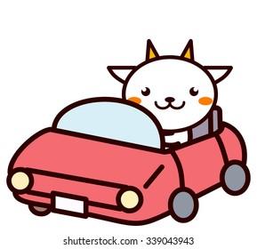 Animal Series to drive a car