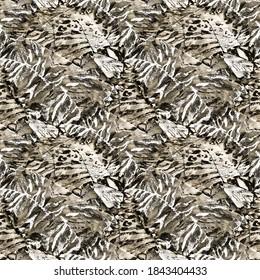 Animal Skin Print. Graphic Design Element. Yellow Animal Print Floral. Seamless Leopard. Gold Color Animal Print. Beige Seamless Snake. Modern Line Art.