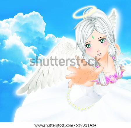 girl Anime angel
