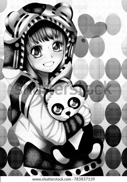 Ilustrações Stock Imagens E Vetores De Anime Panda Girl