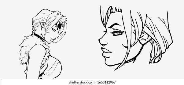 Anime Fashion Images Stock Photos Vectors Shutterstock