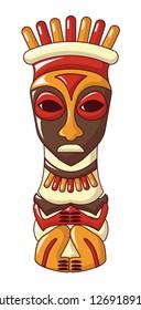 Antique idol icon. Cartoon of antique idol icon for web design isolated on white background