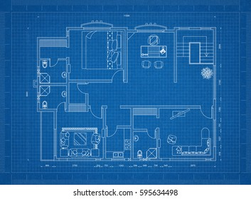 Apartment blueprint