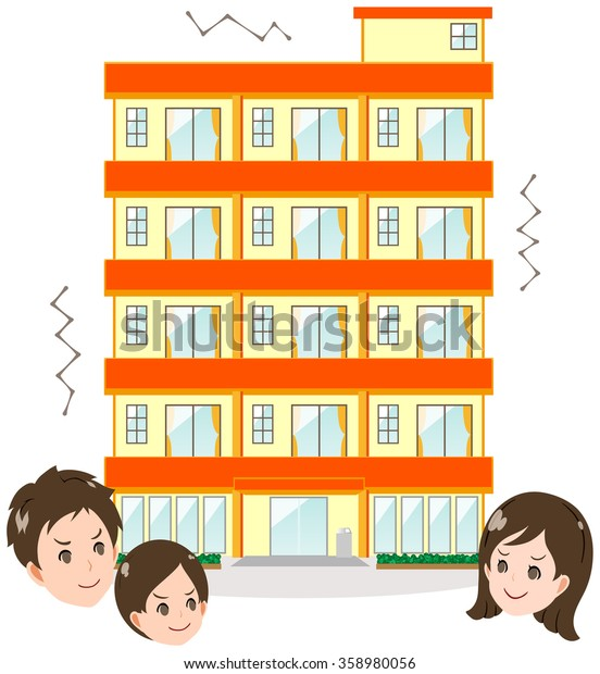 An apartment and family / earthquake proof