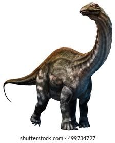 Apatosaurus 3D illustration