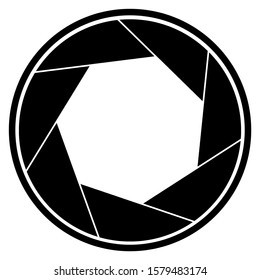 Aperture Logo to add to your photographs and illustrate the aperture value you have used for the photograph