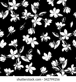 Best of Design Black And White Pattern Flower