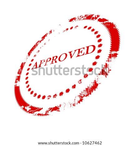 approval stamp stock illustration 10627462 shutterstock