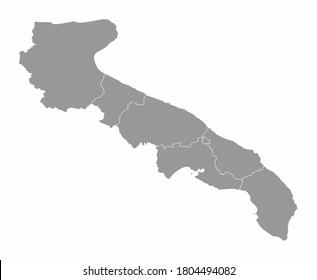 Cartina Puglia Vettoriale.Mappa Puglia Immagini Foto Stock E Grafica Vettoriale Shutterstock