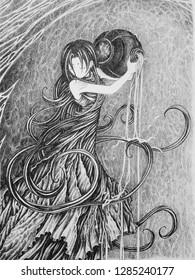 Aquarius girl (zodiac)