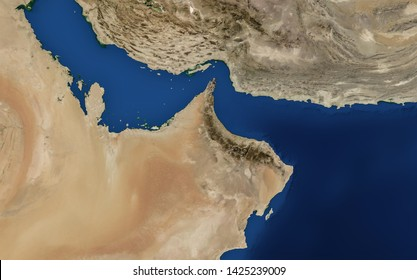 Arabian Gulf Map Persian Gulf Map