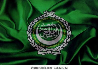 Arabian league grunge waving flag