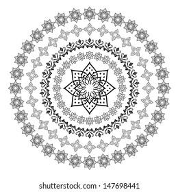 Arabic ornament for decoration