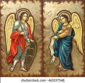 Archangel Michael and Gabriel