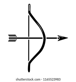Archery ammunition icon. Simple illustration of archery ammunition icon for web