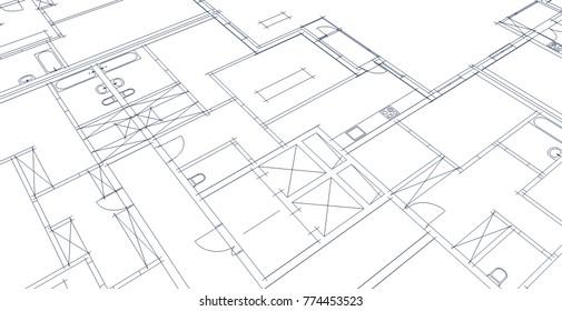 Royalty Free Stock Illustration Of Architecture Floor Plan