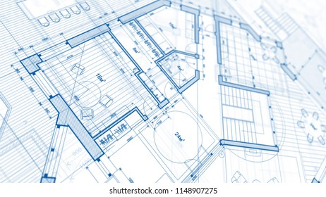 Architecture design: blueprint plan