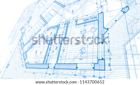 Image of: Architecture Design Blueprint On Architecture Design Blueprint Plan Illustration Of Modern Residential Building Technology Design Blueprint Plan Illustration Stock