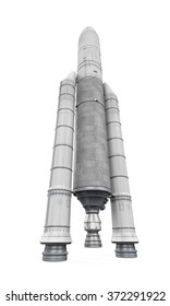 Ariane Space Rocket