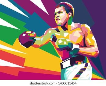 Arizona, United States - January 17, 1942: Muhammad Ali was an American professional boxer, activist, and philanthropist.