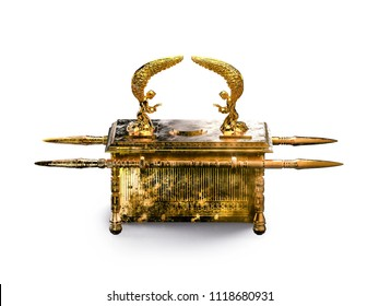 ark of the covenant on a white background / 3D illustration