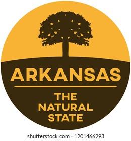 arkansas: the natural state | digital badge
