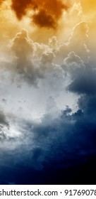 Armageddon background - dramatic sky with light from above. Mayan apocalypse 2012, Nostradamus armageddon 2012, armageddon bible