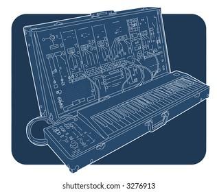 arp 2600 keyboard
