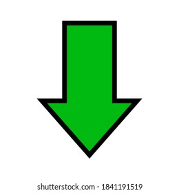 Arrow Pointing Down Symbol High Res Stock Images | Shutterstock