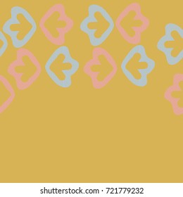 Arrows striped seamless   pattern. Hand drawn.
