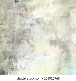 art abstract acrylic background in light grey and white colors