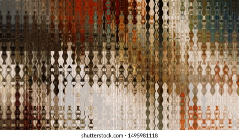 art abstract colorful geometric intersection background with brown and beige