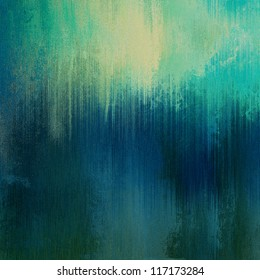 art abstract monochrome dust textured background in blue, green and beige colors