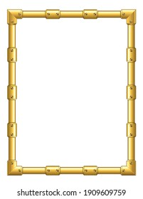 Art Border, Frame for Inside Cover Prayer Book, Ready add text. Greeting, useful