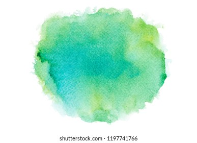 art brush shades green watercolor.space image